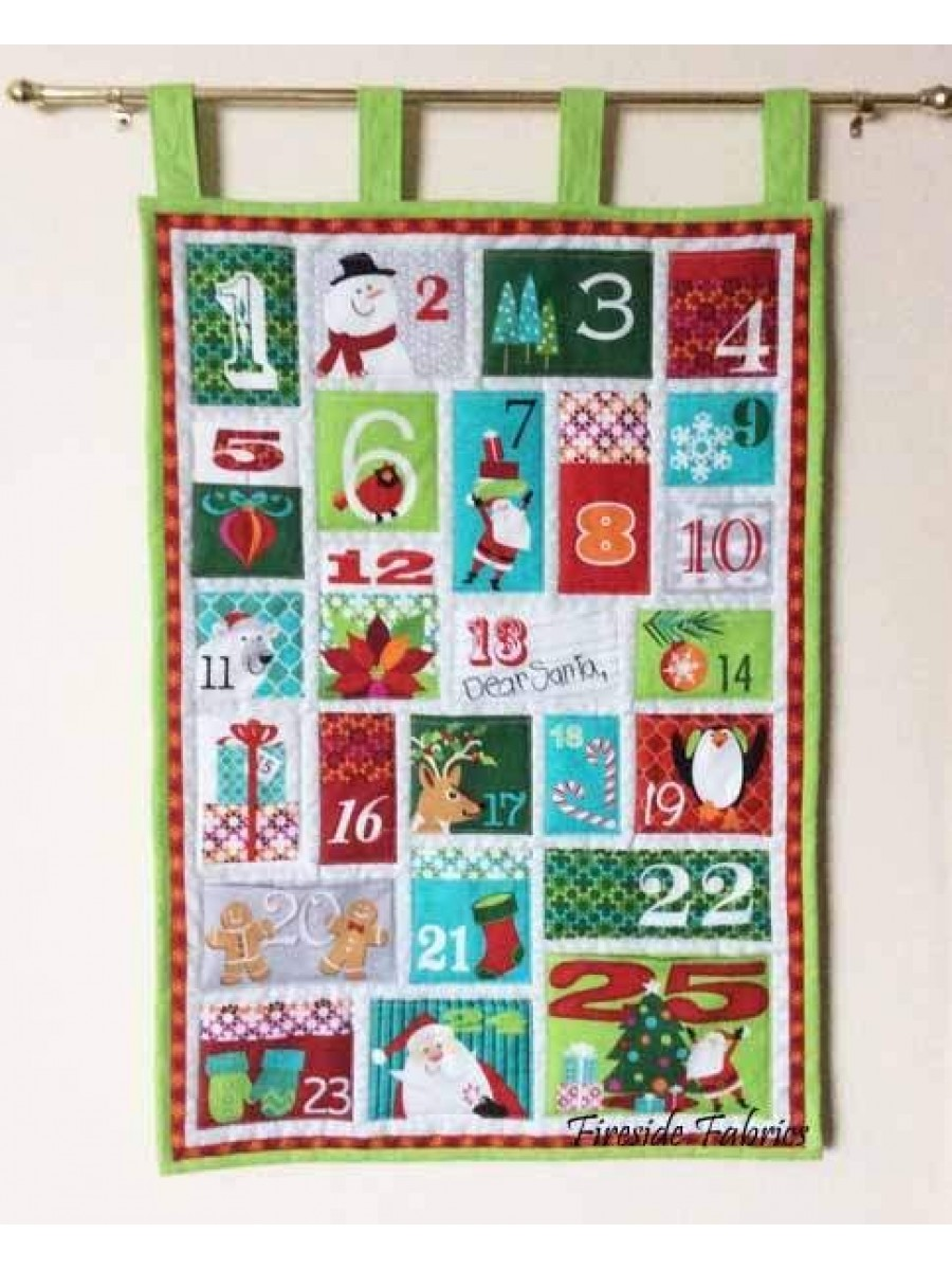 DEAR SANTA ADVENT CALENDAR PANEL
