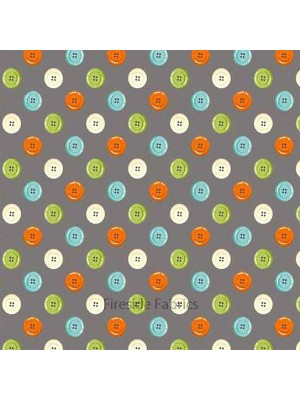 1339S - Sew Simple - Buttons - Grey