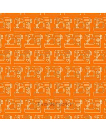 Sewing Machines - Orange