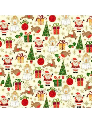 CHRISTMAS - ICONS - CREAM