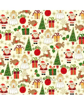 CHRISTMAS - ICONS - CREAM