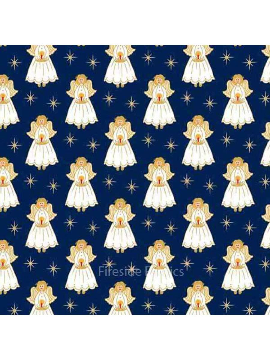 CHRISTMAS - ANGELS - BLUE (2 Left)