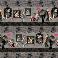 DANCE AND ROMANCE - BORDER STRIPE (price per stripe)