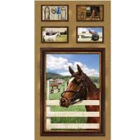 WORLD OF HORSES - PANEL