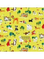 DOG PARK - DOGS - YELLOW