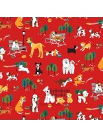 DOG PARK - DOGS - RED