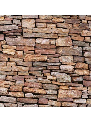 LANDSCAPE MEDLEY - STONE WALL - BROWN
