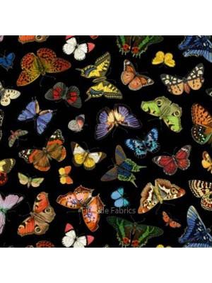 Butterfly Garden - Black