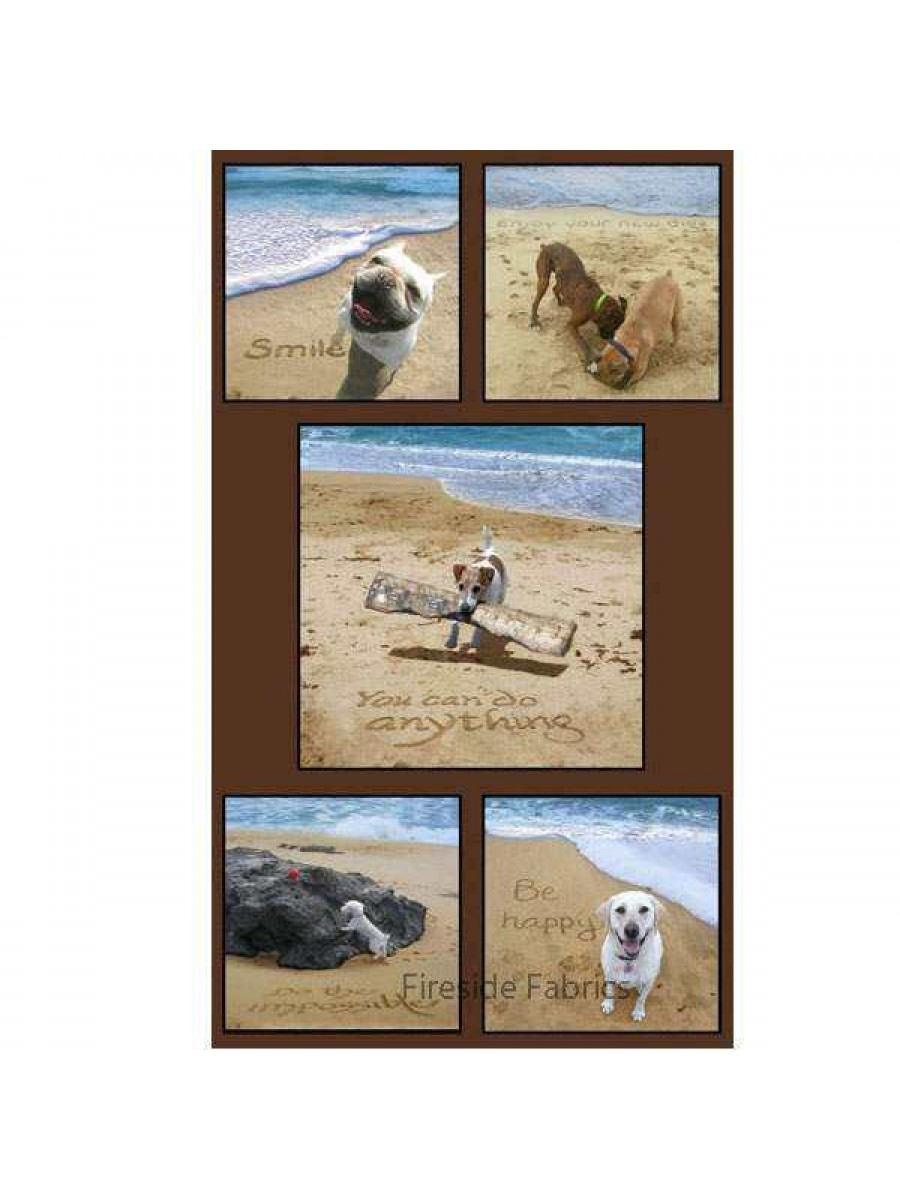 Sand Scribbles - Dogs Panel