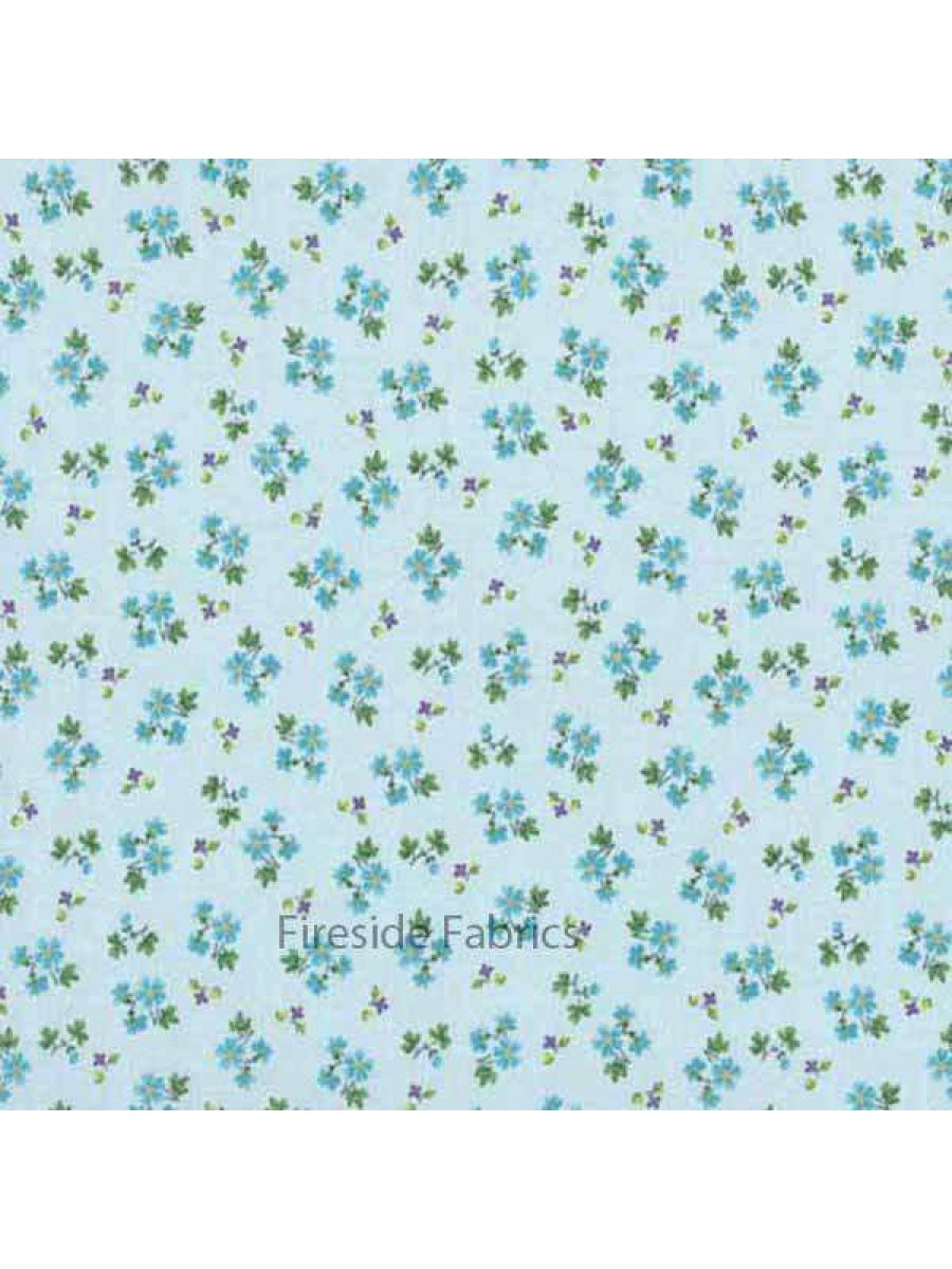 ALISON'S FLOWERS - FORGET ME NOT - TURQUOISE