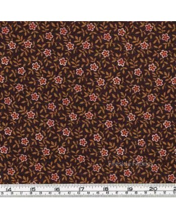 CATHERINE - SMALL FLOWER - BROWN