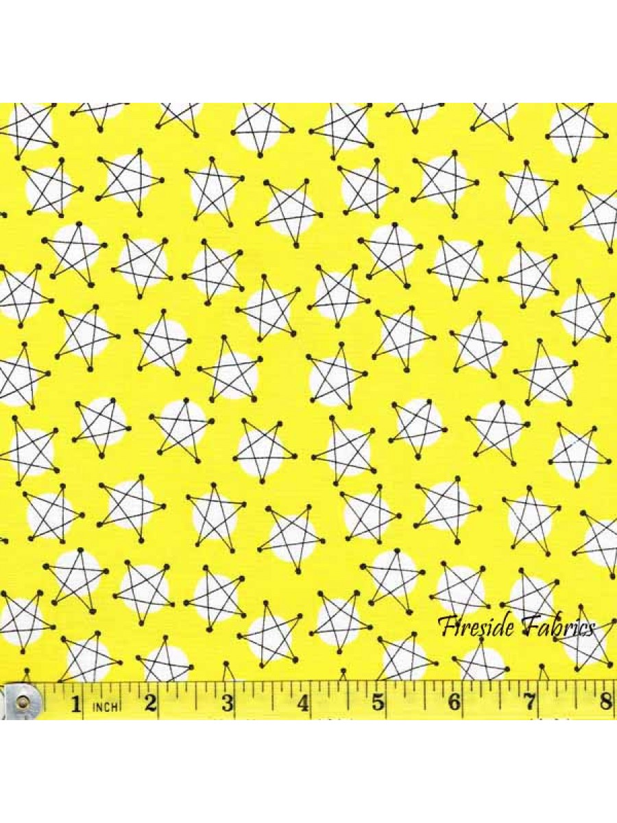 AND Z - STARS - YELLOW