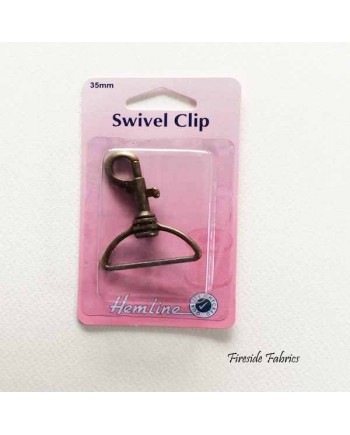SWIVEL CLIP 35mm - BRONZE