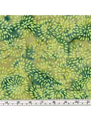 BATIK - SEEDHEADS - GREEN