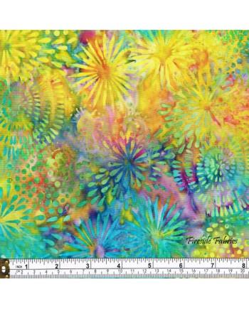 BATIK - FLOWERS - MULTI (1 Left)