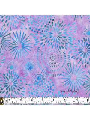 BATIK - FLOWERS - PURPLE