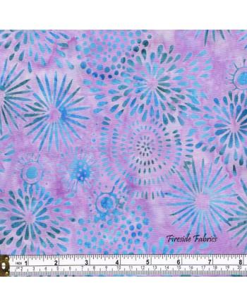 BATIK - FLOWERS - PURPLE