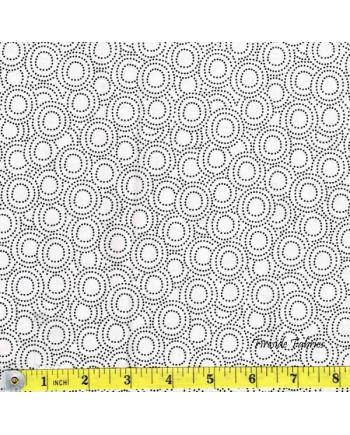 MONOCHROME - CIRCLES - WHITE