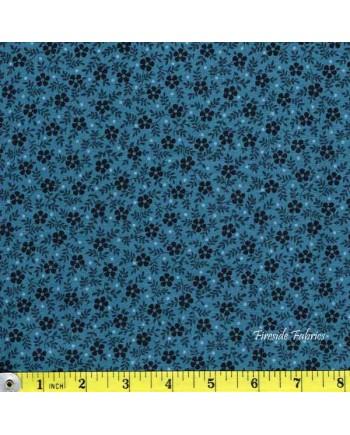 BLUE SKY - SML FLOWER - BLUE