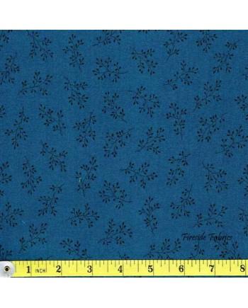BLUE SKY - SPRIG - DK BLUE TONAL