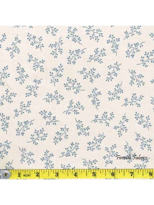 BLUE SKY - SPRIG - BLUE/CREAM (1 Left)