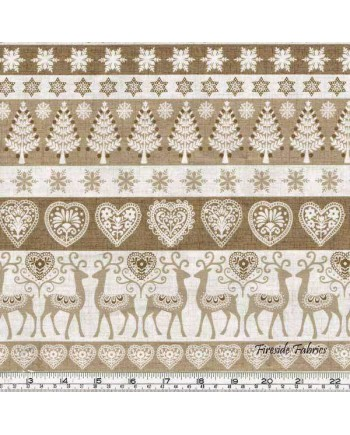 SCANDI 3 - BORDER - HESSIAN