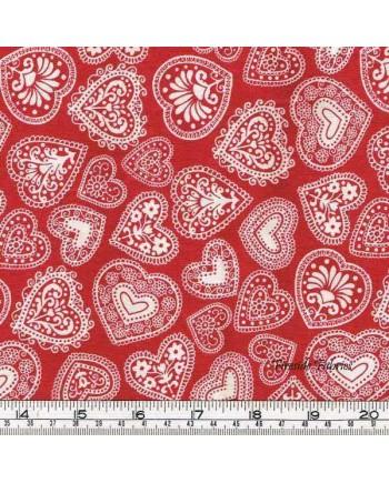 SCANDI 3 - HEARTS - RED