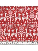 SCANDI 3 - REINDEER - RED (2 Left)