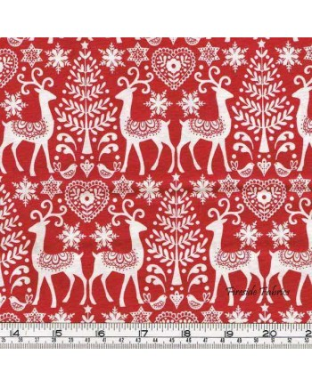 SCANDI 3 - REINDEER - RED (1 Left)