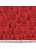 SCANDI 3 - TREES - RED