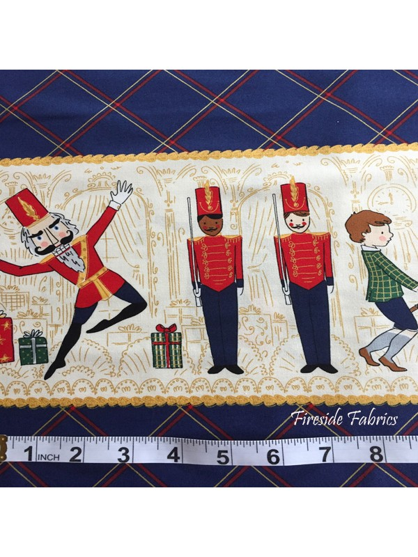 NUTCRACKER DOUBLE BORDER - NAVY