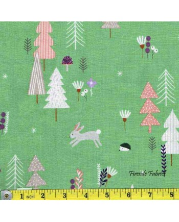 FOREST TALK - PINE TREES - GREEN