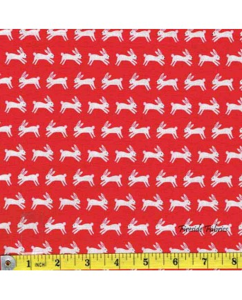 FOREST TALK - RABBITS - RED