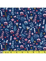 FOREST TALK - FLORA - DARK BLUE