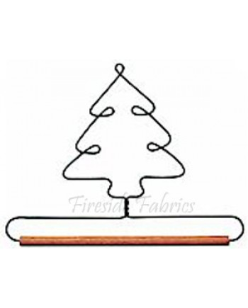 """TREE WIRE QUILT HANGER - 6"""" (15cm)"""