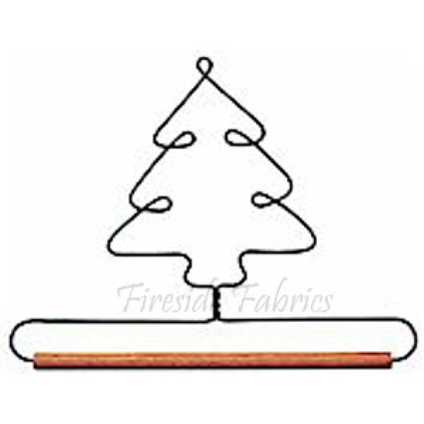 """TREE WIRE QUILT HANGER - 7.5"""" (19cm)"""