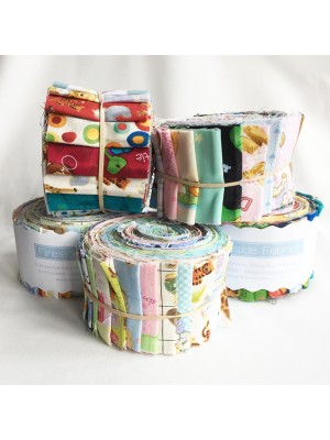 "FABRIC ROLL - BABY/CHILD 2.5"" - 20 STRIPS"