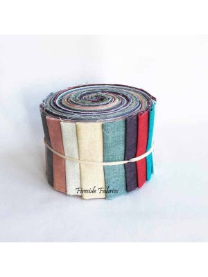 FABRIC ROLL - LINEN TEXTURE - 20 STRIPS