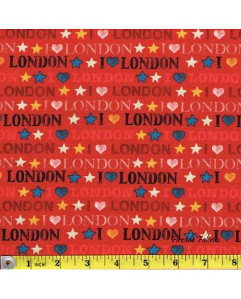 LONDON - I LOVE LONDON - RED