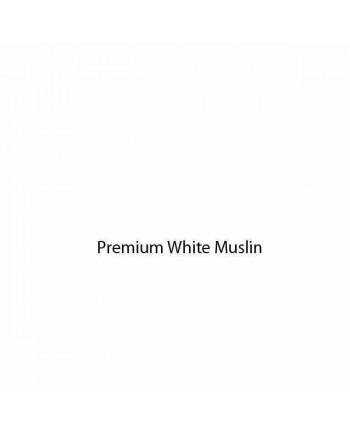 WHITE PREMIUM CALICO - 90 INS (228CM) WIDE (price per half mtr)