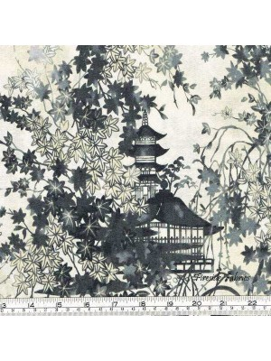 IMPERIAL COLLECTION - GARDEN PAGODA - GREY