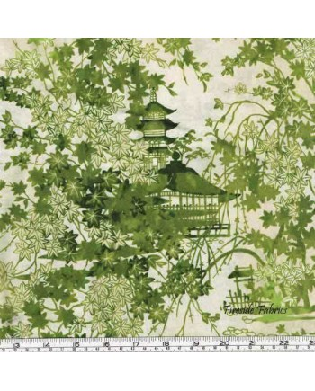 IMPERIAL COLLECTION - GARDEN PAGODA - GREEN