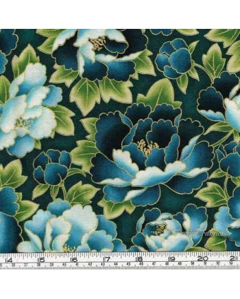 IMPERIAL COLLECTION - PEONIES - BLUE