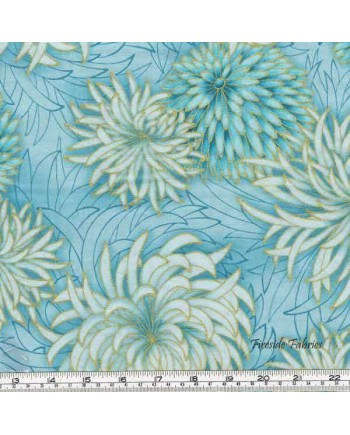 IMPERIAL COLLECTION - CHRYSANTHEMUMS - BLUE (1 Left)