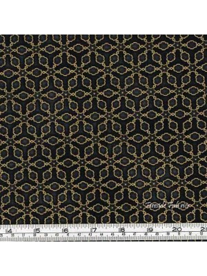 IMPERIAL COLLECTION - LATTICE - GOLD/BLACK