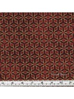 IMPERIAL COLLECTION - LATTICE - GOLD/RED