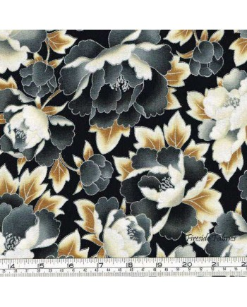 IMPERIAL COLLECTION - PEONIES - GREY (1 Left)