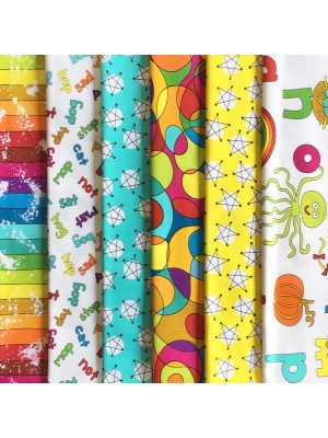 AND Z - 6 FAT QUARTER PACK