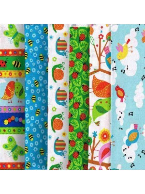 BACKYARD BUZZ - 6 FAT QUARTER PACK