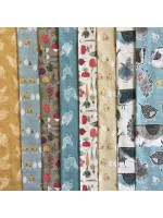 HOME GROWN - 8 FAT QUARTER PACK